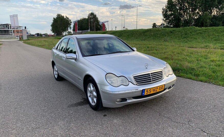 Mercedes-Benz C-klasse – 180 Elegance NAP / AIRCO/ NW APK/ NW ketting
